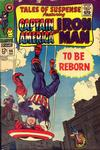 Cover for Tales of Suspense (Marvel, 1959 series) #96
