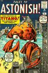 Cover for Tales to Astonish (Marvel, 1959 series) #10