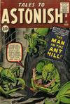 Cover for Tales to Astonish (Marvel, 1959 series) #27
