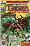 Cover for Tarzan (Marvel, 1977 series) #8