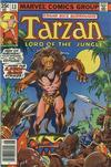 Cover for Tarzan (Marvel, 1977 series) #13