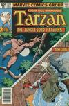Cover for Tarzan (Marvel, 1977 series) #24 [Newsstand]