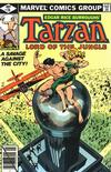 Cover for Tarzan (Marvel, 1977 series) #28