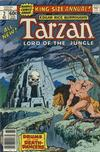 Cover for Tarzan Annual (Marvel, 1977 series) #2