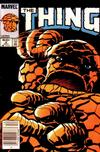Cover for The Thing (Marvel, 1983 series) #6 [Newsstand]