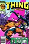 Cover for The Thing (Marvel, 1983 series) #10 [Newsstand]