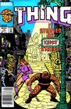 Cover for The Thing (Marvel, 1983 series) #15 [Newsstand]
