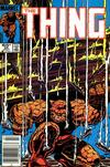 Cover for The Thing (Marvel, 1983 series) #25 [Direct]