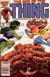 Cover for The Thing (Marvel, 1983 series) #36 [Newsstand]