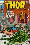Cover for Thor (Marvel, 1966 series) #190 [Regular Edition]