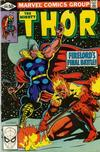 Cover for Thor (Marvel, 1966 series) #306 [Direct]