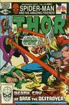 Cover for Thor (Marvel, 1966 series) #314 [Direct Edition]