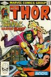 Cover for Thor (Marvel, 1966 series) #319 [Direct]