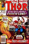 Cover for Thor (Marvel, 1966 series) #402 [Newsstand Edition]