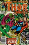 Cover for Thor (Marvel, 1966 series) #405 [Newsstand Edition]