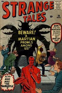 Cover Thumbnail for Strange Tales (Marvel, 1951 series) #78