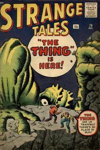Cover Thumbnail for Strange Tales (Marvel, 1951 series) #79