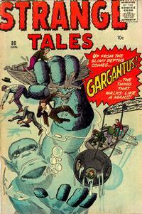 Cover Thumbnail for Strange Tales (Marvel, 1951 series) #80