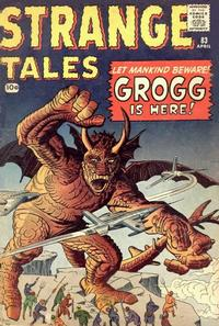 Cover Thumbnail for Strange Tales (Marvel, 1951 series) #83