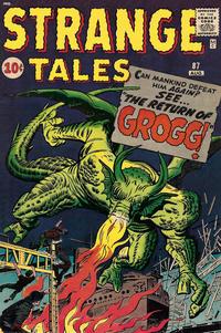Cover Thumbnail for Strange Tales (Marvel, 1951 series) #87