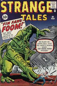 Cover for Strange Tales (Marvel, 1951 series) #89