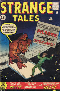 Cover Thumbnail for Strange Tales (Marvel, 1951 series) #94