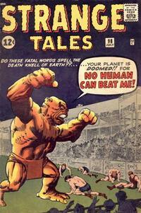 Cover for Strange Tales (Marvel, 1951 series) #98