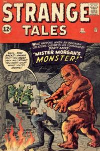 Cover Thumbnail for Strange Tales (Marvel, 1951 series) #99