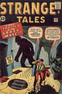 Cover Thumbnail for Strange Tales (Marvel, 1951 series) #100