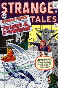 Cover Thumbnail for Strange Tales (Marvel, 1951 series) #103