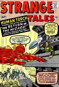 Cover for Strange Tales (Marvel, 1951 series) #105