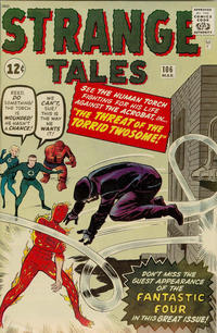 Cover Thumbnail for Strange Tales (Marvel, 1951 series) #106