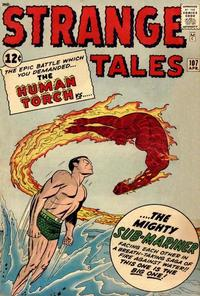 Cover Thumbnail for Strange Tales (Marvel, 1951 series) #107