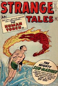 Cover Thumbnail for Strange Tales (Marvel, 1951 series) #107