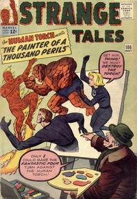 Cover for Strange Tales (Marvel, 1951 series) #108