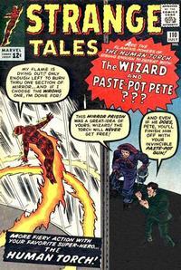 Cover Thumbnail for Strange Tales (Marvel, 1951 series) #110