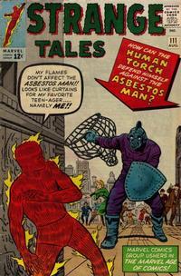 Cover Thumbnail for Strange Tales (Marvel, 1951 series) #111