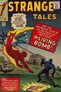 Cover for Strange Tales (Marvel, 1951 series) #112