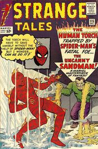 Cover Thumbnail for Strange Tales (Marvel, 1951 series) #115