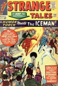 Cover Thumbnail for Strange Tales (Marvel, 1951 series) #120