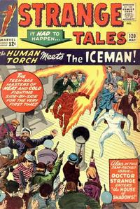 Cover Thumbnail for Strange Tales (Marvel, 1951 series) #120