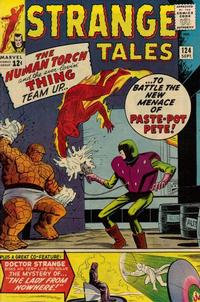 Cover for Strange Tales (Marvel, 1951 series) #124