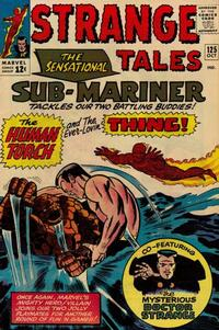 Cover Thumbnail for Strange Tales (Marvel, 1951 series) #125