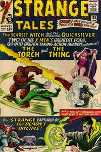 Cover Thumbnail for Strange Tales (Marvel, 1951 series) #128