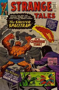 Cover Thumbnail for Strange Tales (Marvel, 1951 series) #132