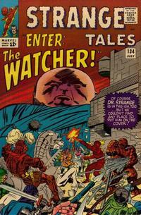 Cover for Strange Tales (Marvel, 1951 series) #134