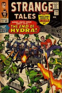 Cover Thumbnail for Strange Tales (Marvel, 1951 series) #140 [Regular Edition]