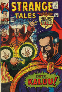 Cover for Strange Tales (Marvel, 1951 series) #148 [Regular Edition]