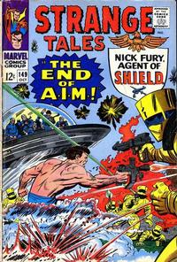 Cover Thumbnail for Strange Tales (Marvel, 1951 series) #149 [Regular Edition]