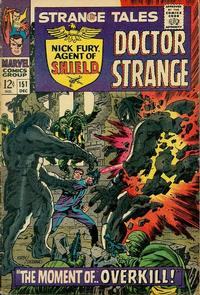 Cover Thumbnail for Strange Tales (Marvel, 1951 series) #151